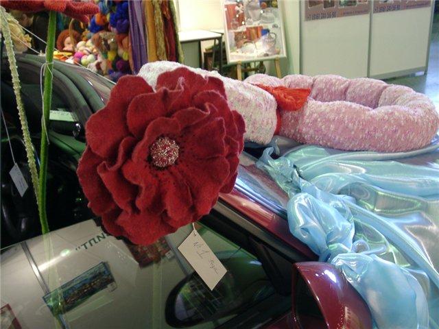 Ярмарка Мастеров: Цветочный автомобиль